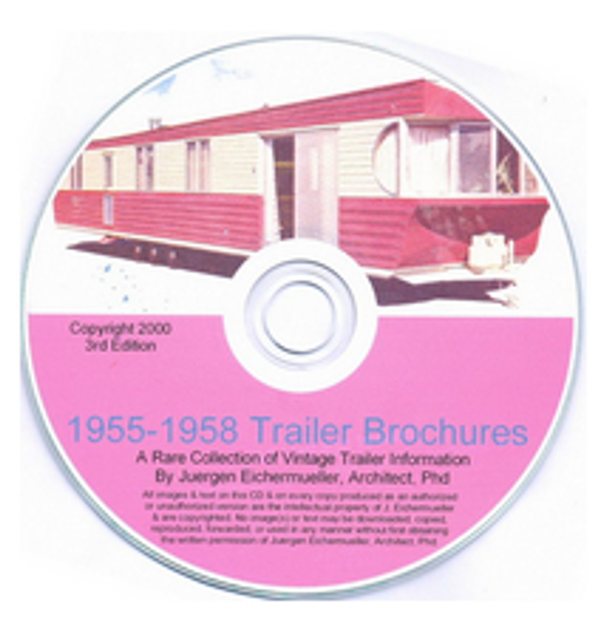 CD-ROM 1955-1958 Trailer Brochures (CBL011)
