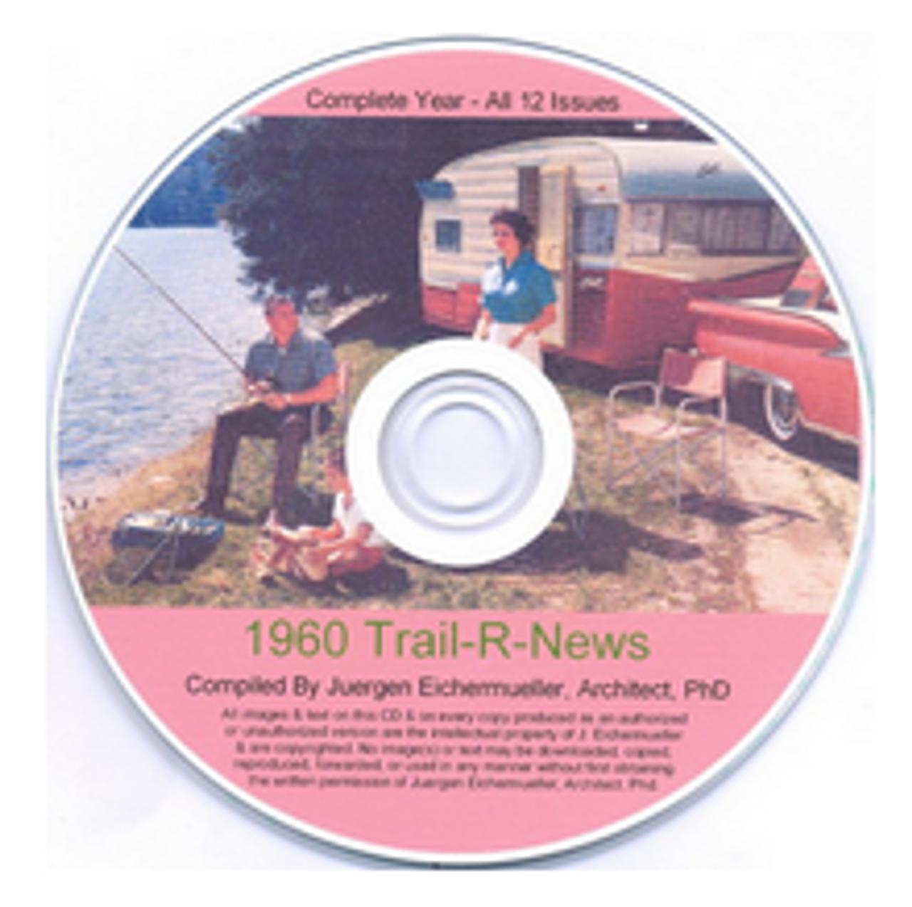 CD-ROM 1960 Trail-R-News (CBL014)