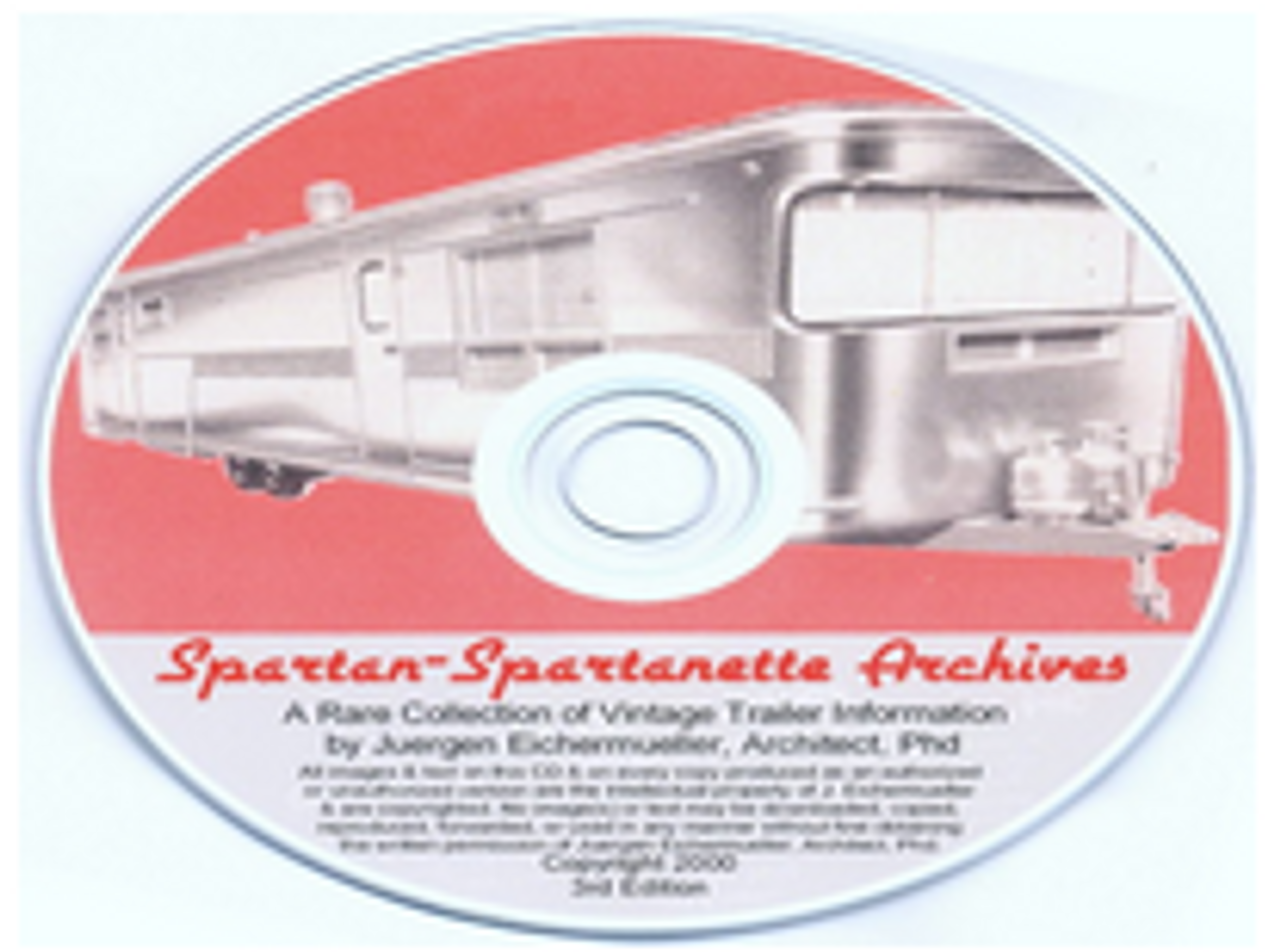 CD-ROM Spartan - Spartanette Archives (CBL016)