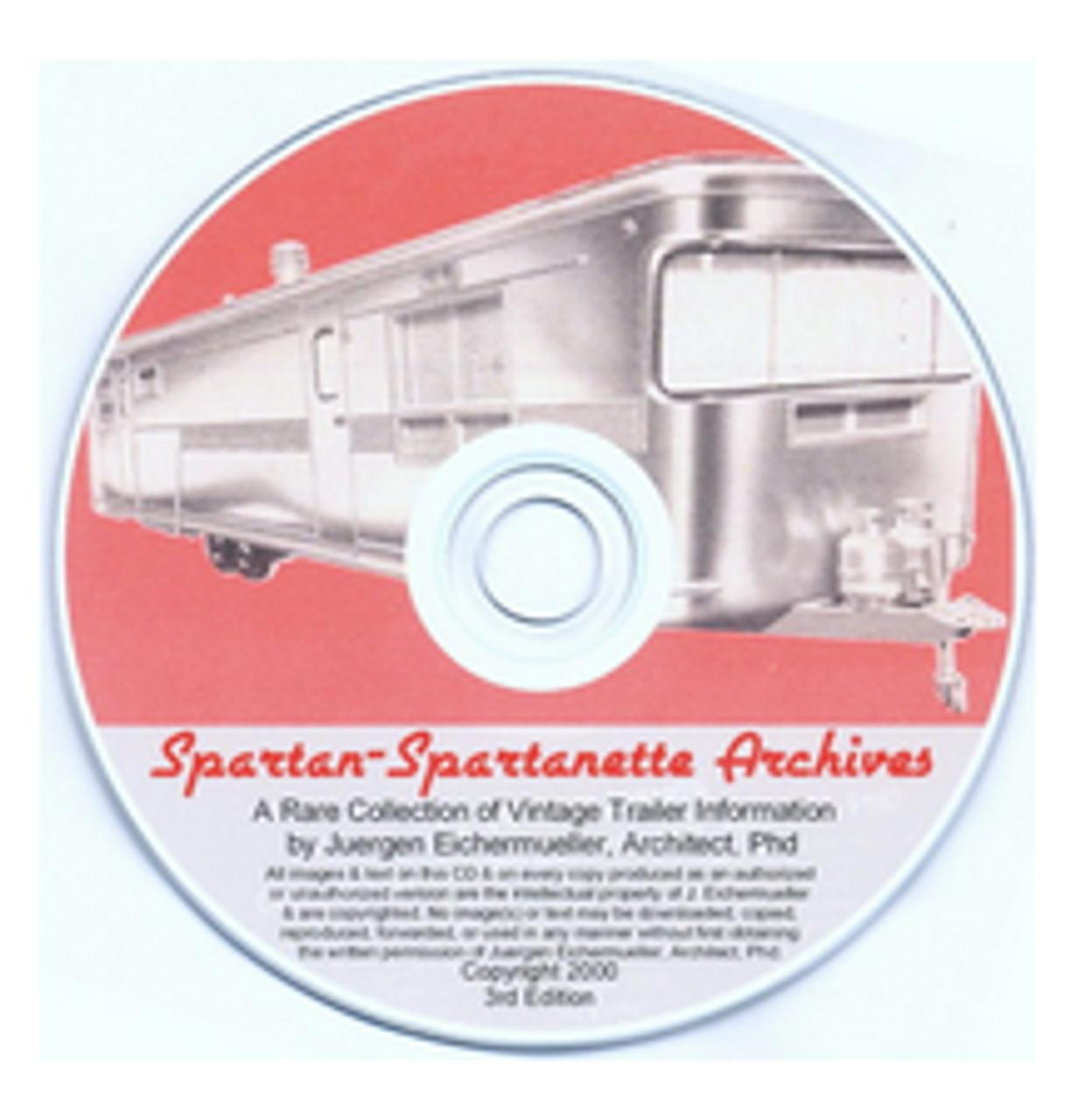 D-ROM Spartan - Spartanette Archives (CBL016)