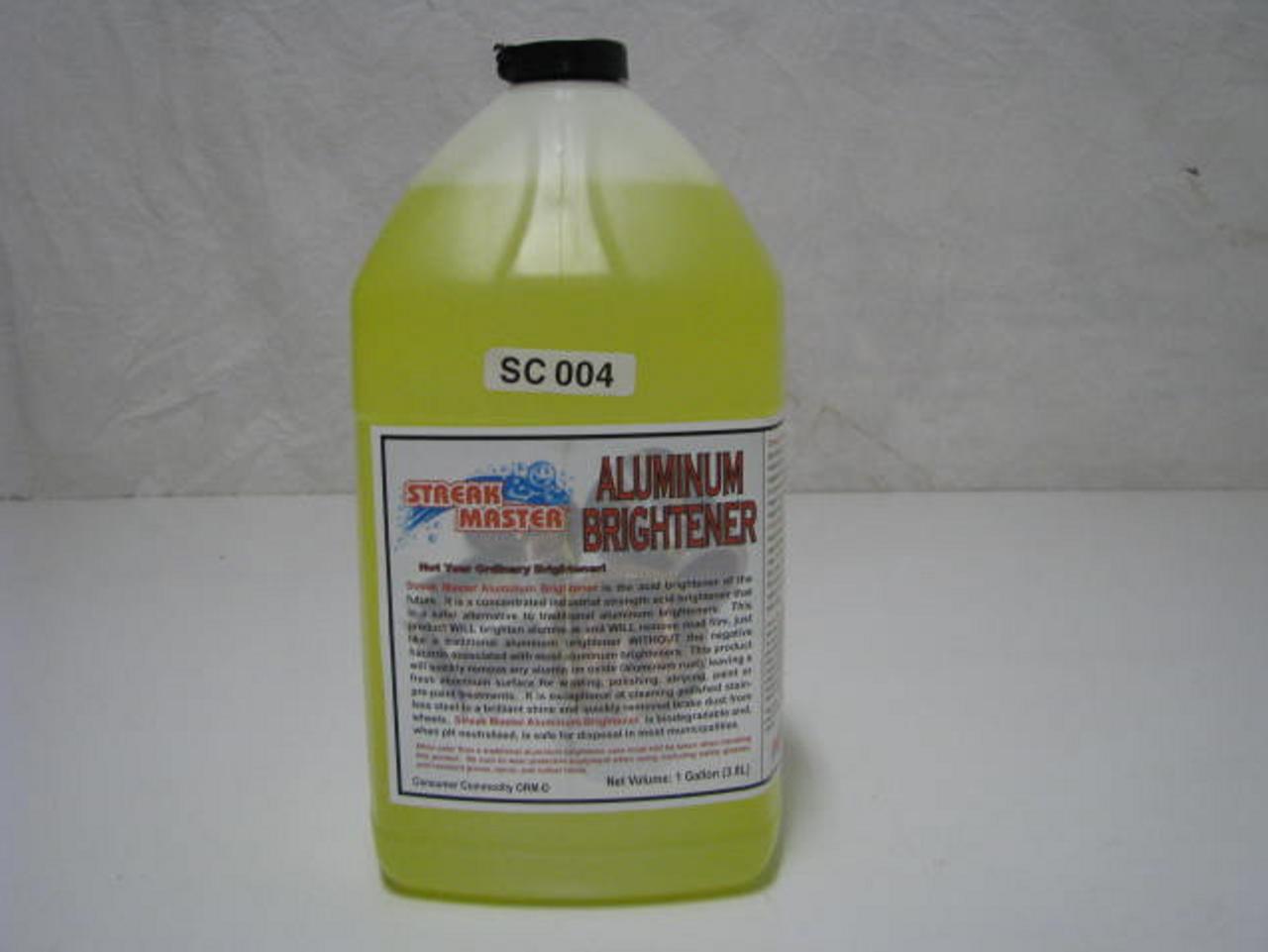 Aluminum Brightener (SC004) PRODUCT SHOWN