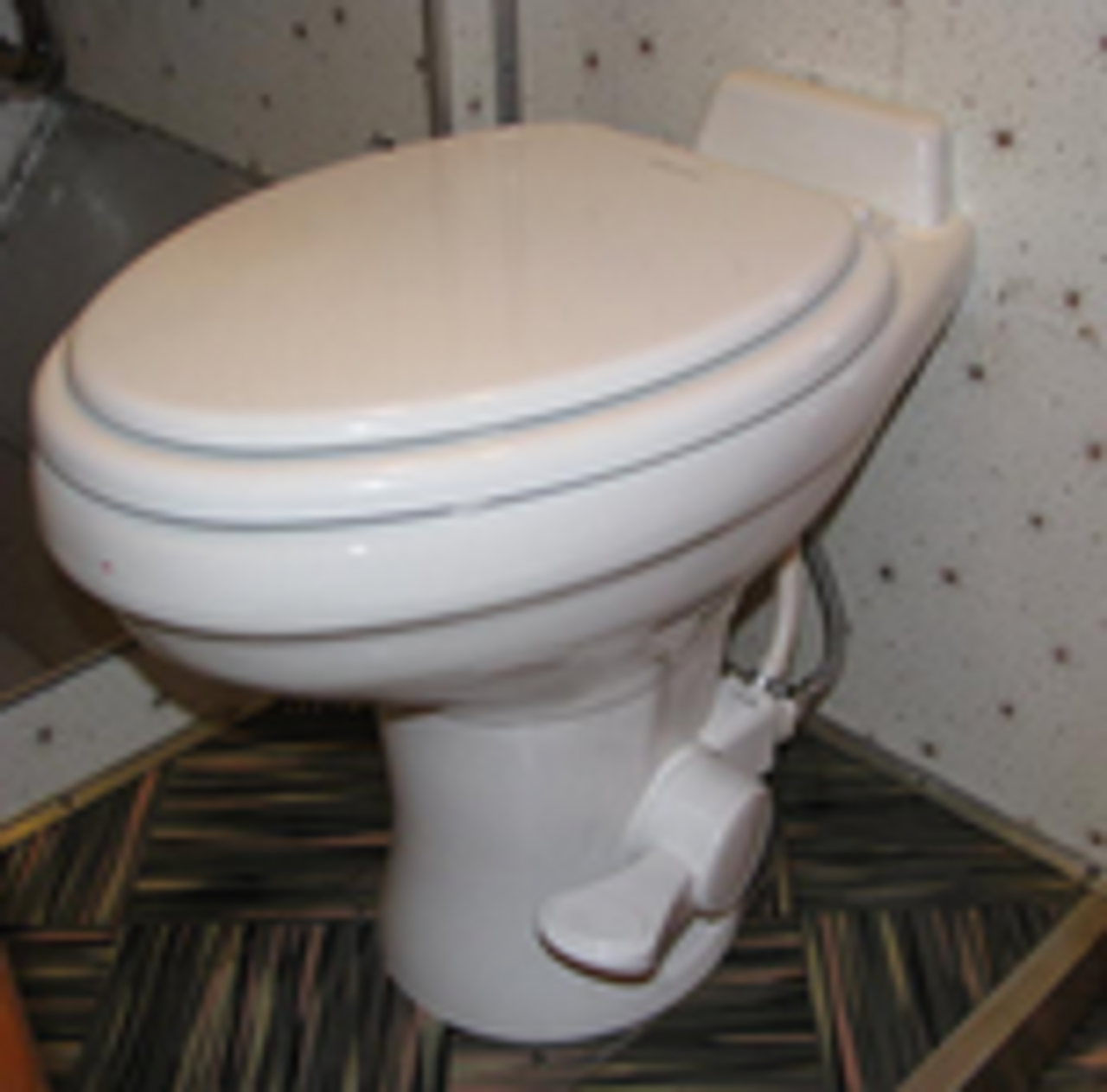 Dometic 310 Toilet White with Sprayer (12-4003)