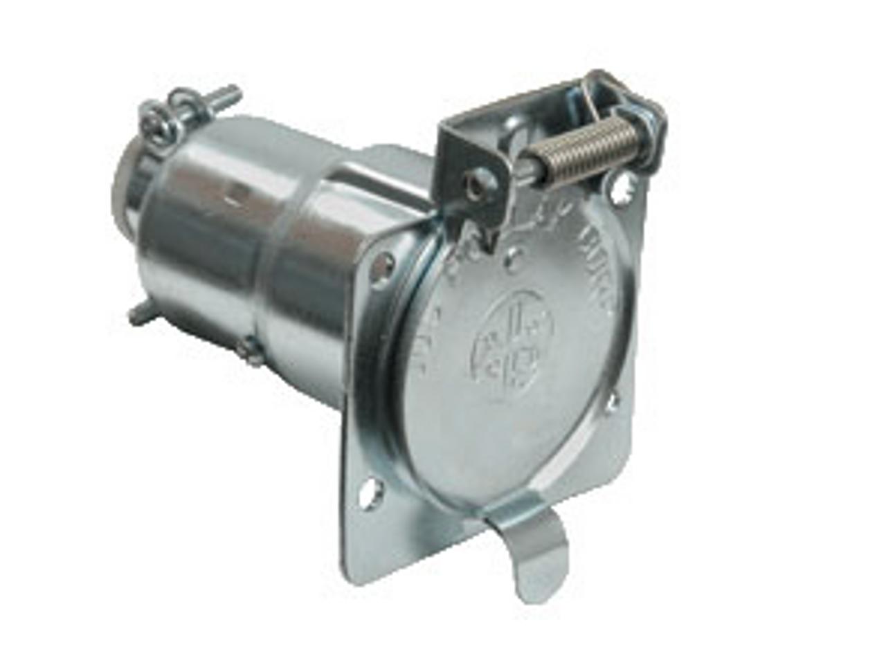 Connector Socket - 7 Way Metal (19-1051)
