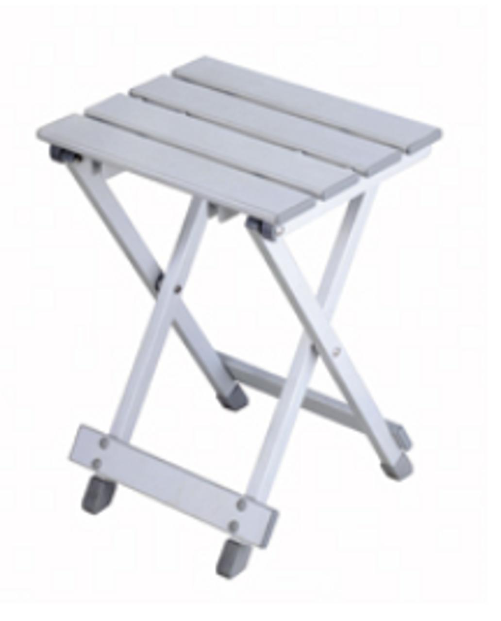 SMALL ALUMINUM TABLE- FOLDING (03-1030)