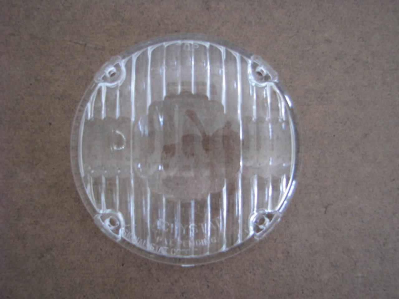 "3-15/16"" Round Clear Lens (CLT044)"