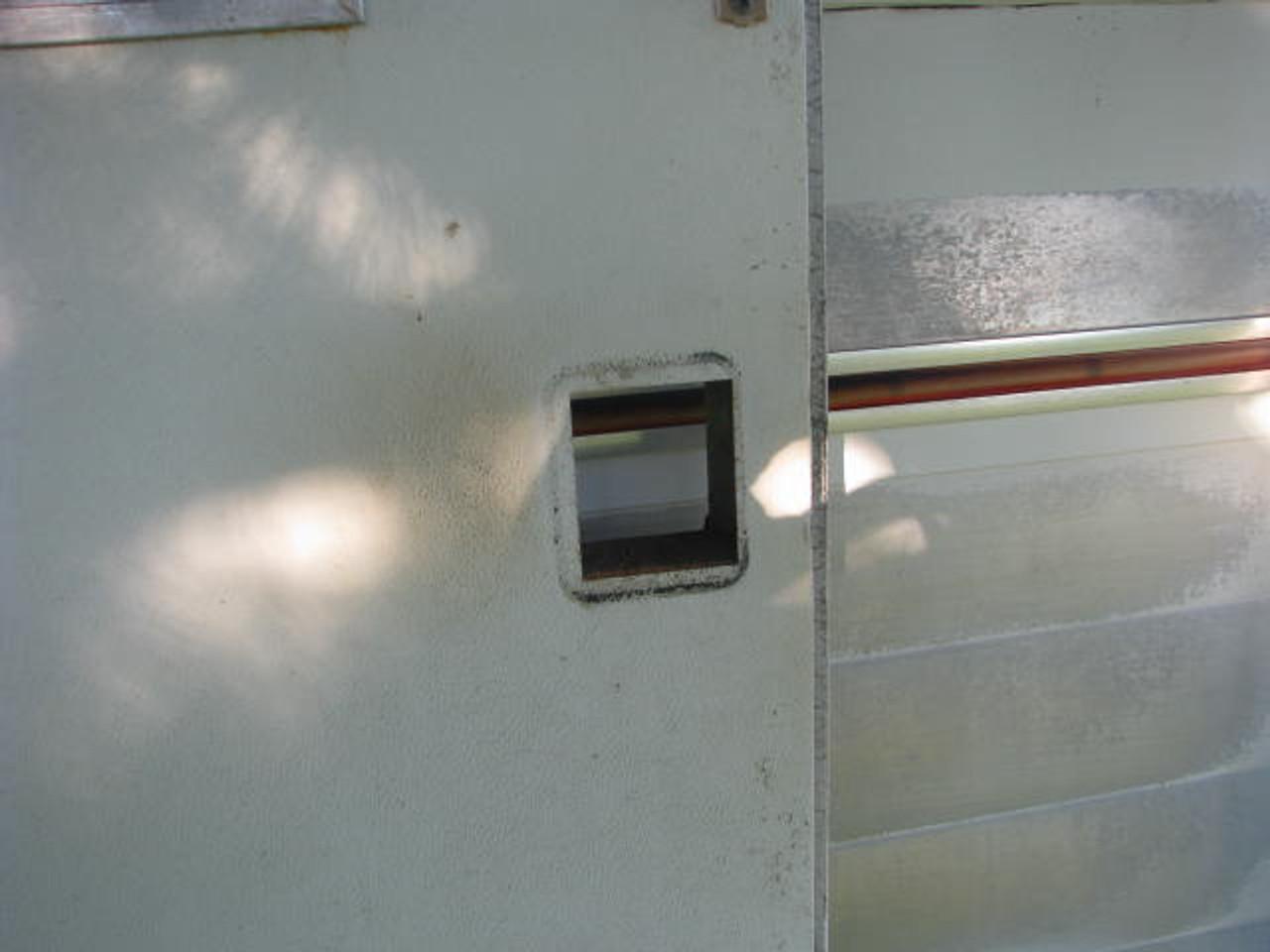 Bargman L-100, L-200 Retrofit Lock Kit (CHW106) Lock Removed