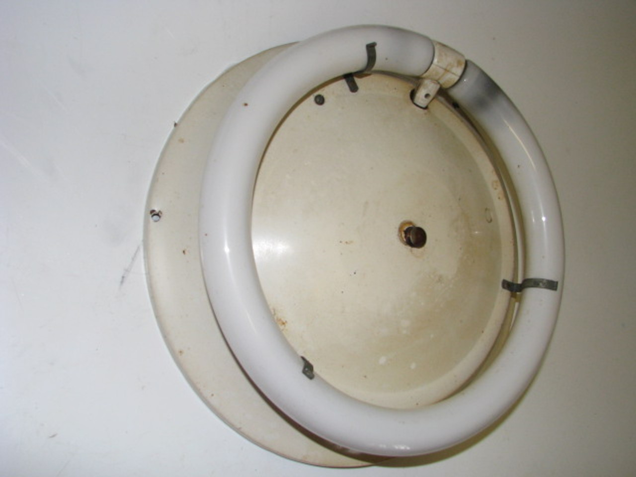 "13"" Round Fluorescent Ceiling Light"" (LT240)"