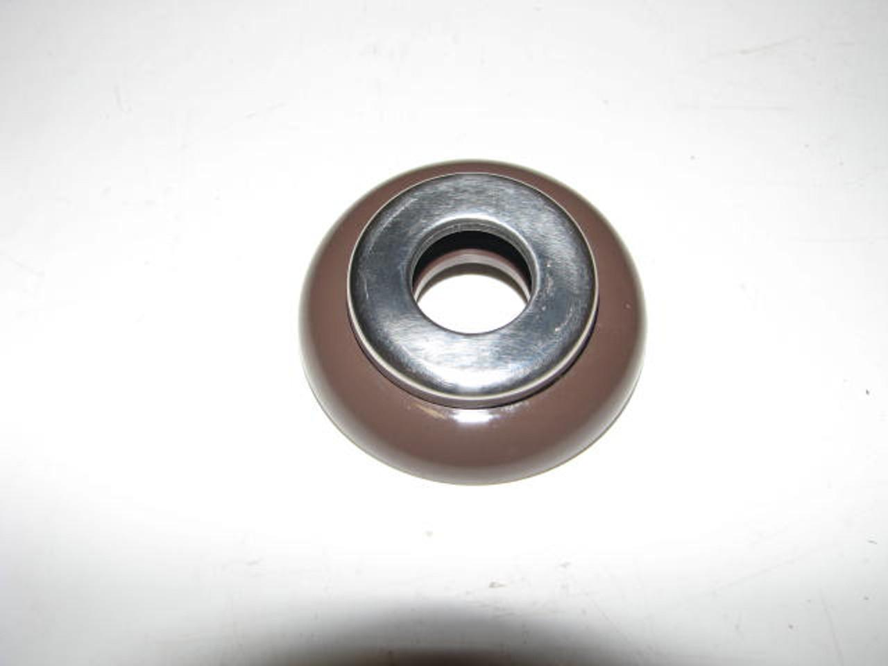 Spartan Window Handle Escutcheon - Chocolate Brown (CHW102)