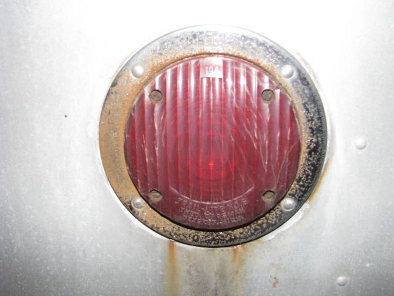 Bargman #6 Reproduction Tail Light Lens (CLT082) SHOWN INSTALLED FRAME NOT INCLUDED