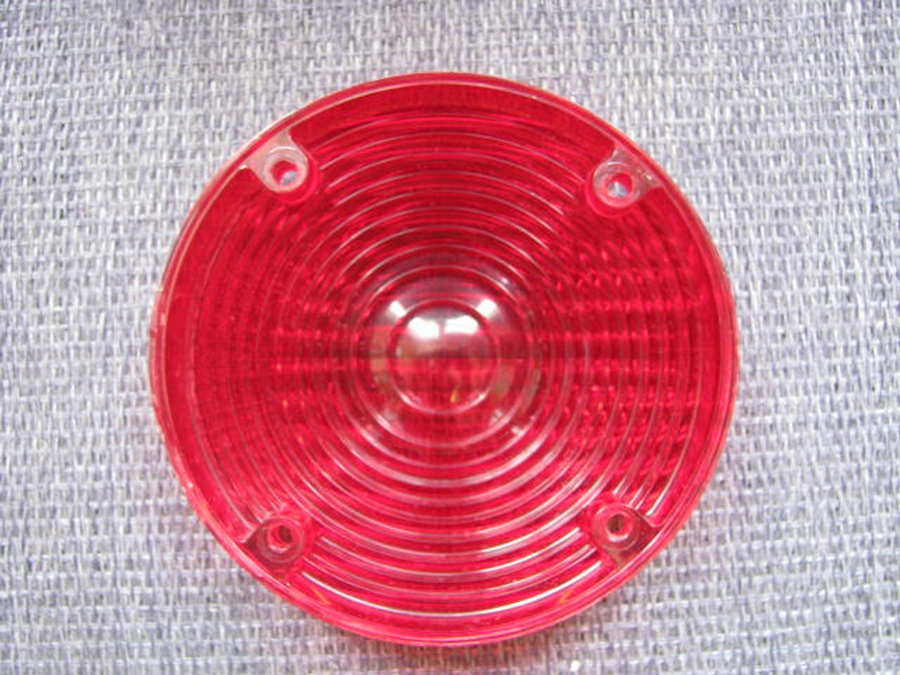 Bargman #6 Reproduction Tail Light Lens (CLT082) REAR VIEW