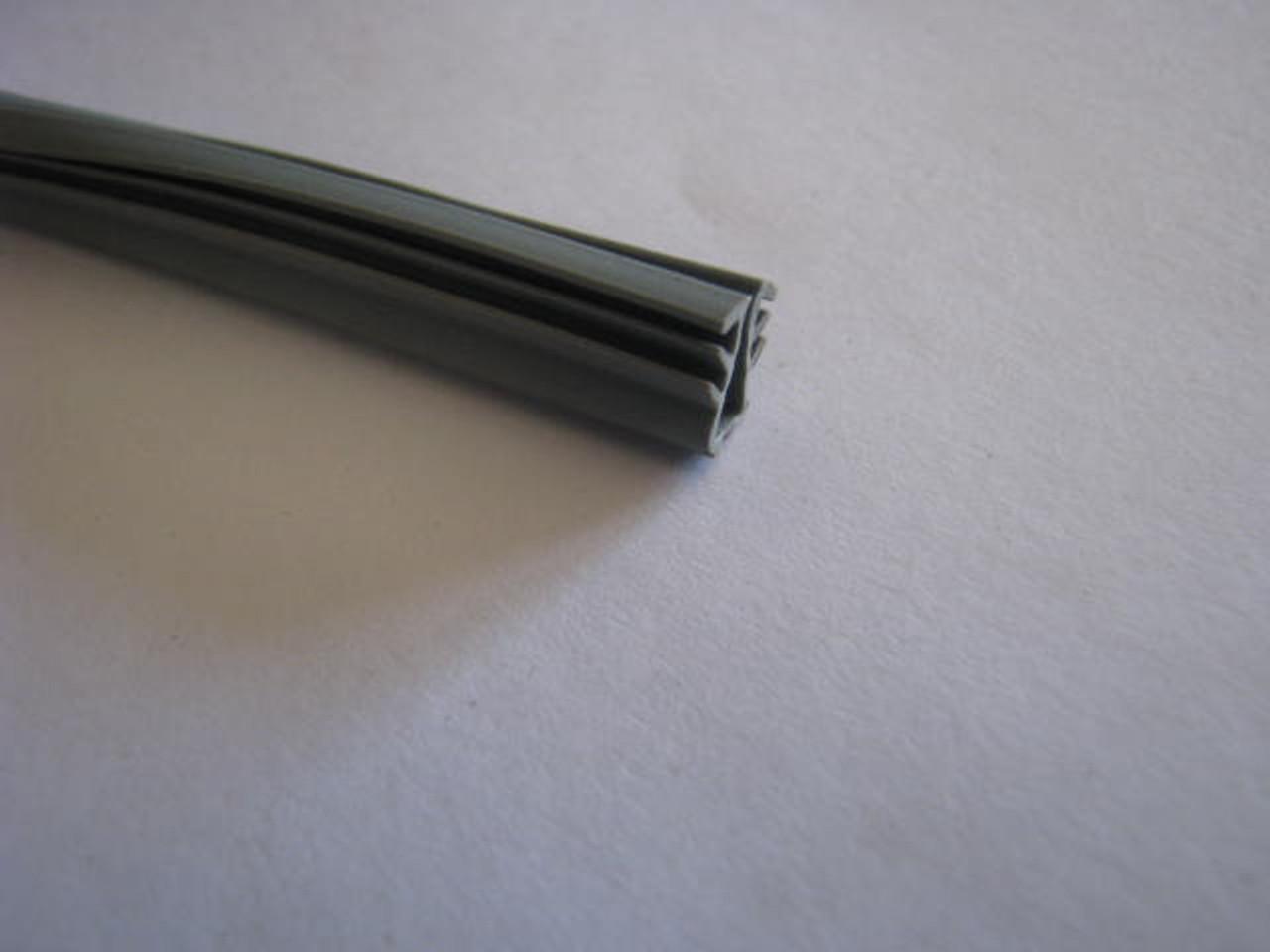 """15/64"""" Spartan Window Glazing Vinyl - Grey (HW246)"""