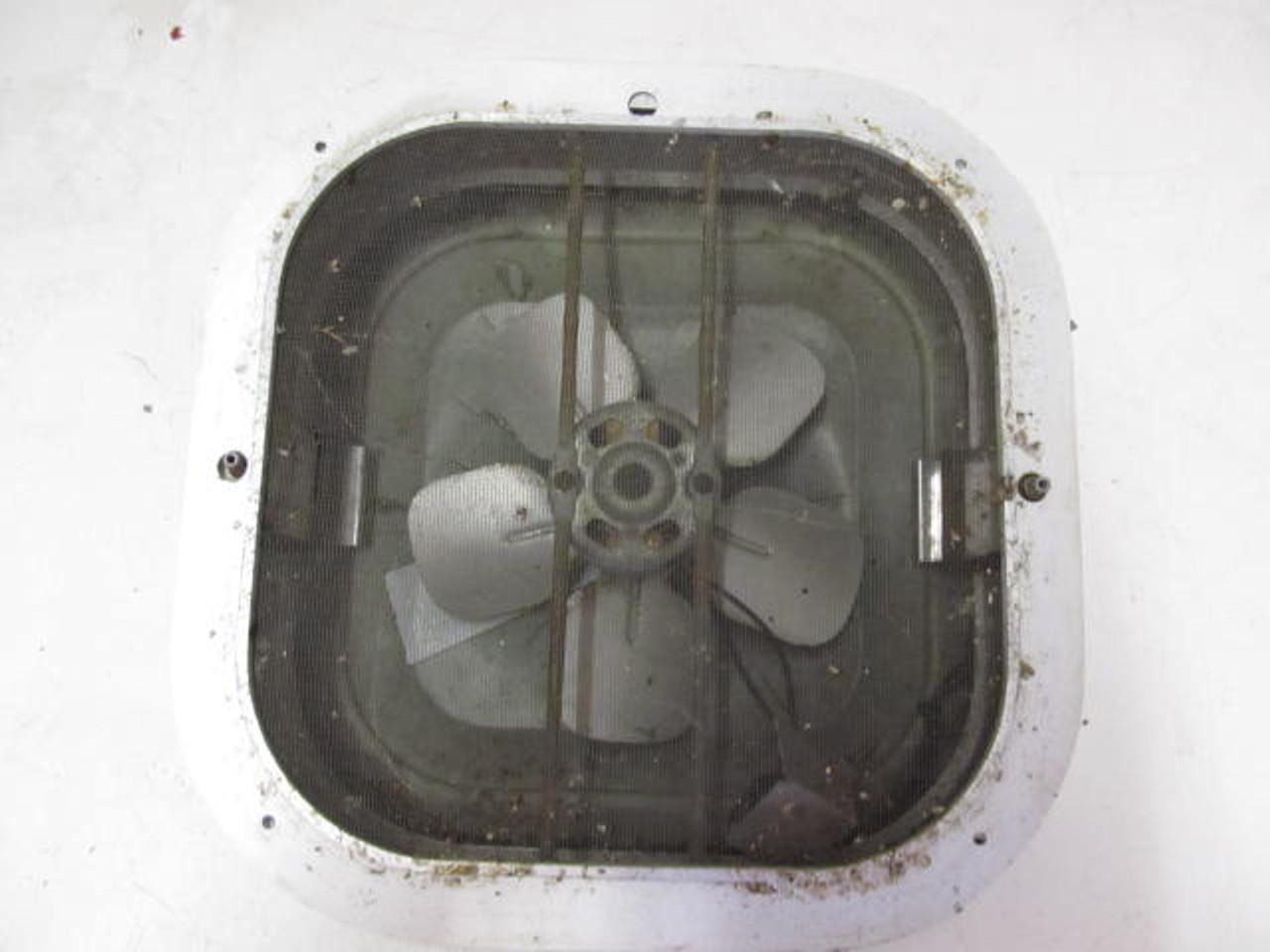 """14""""x 14"""" Aluminum Vent with Fan (BP262)"""