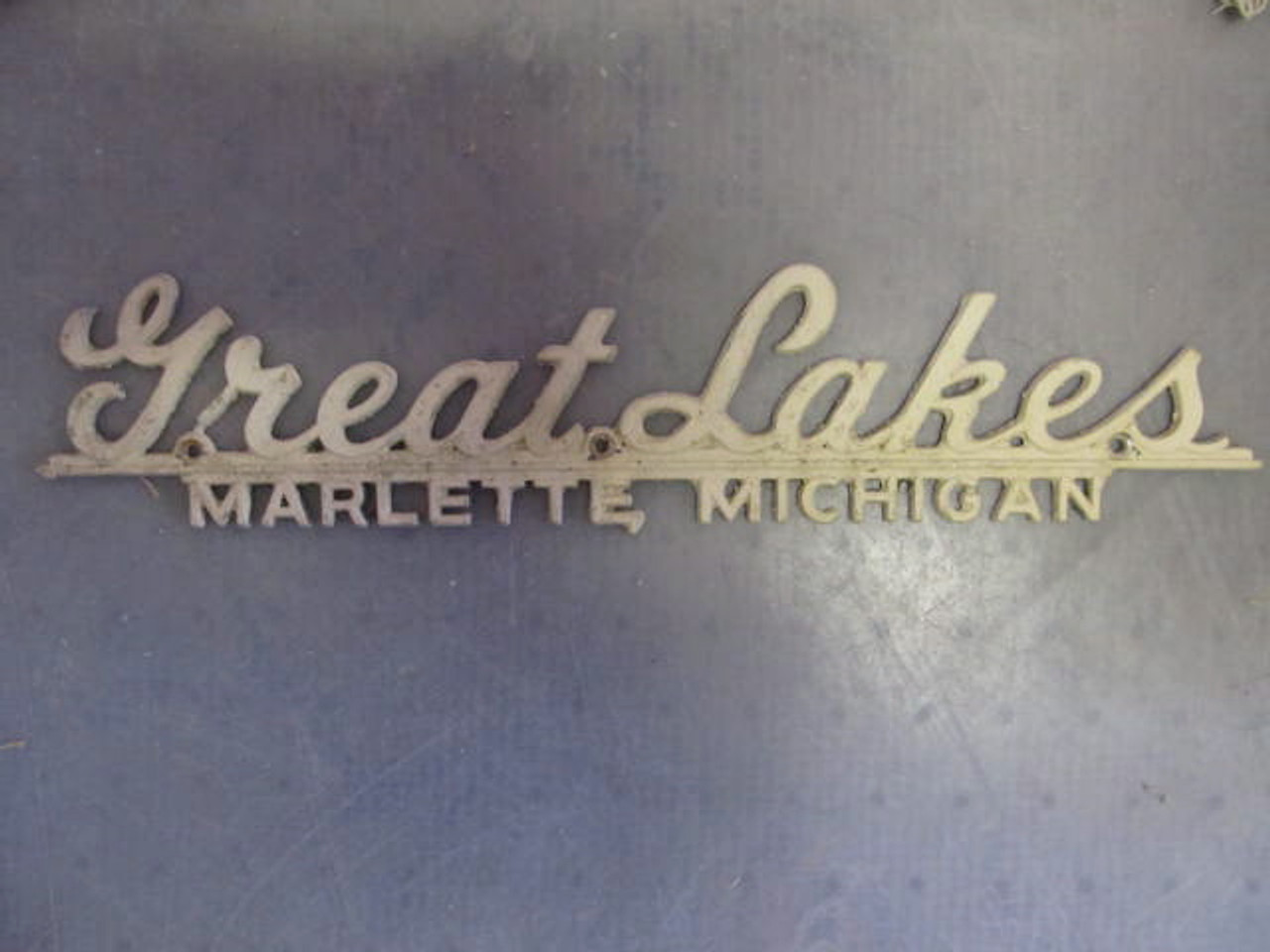 Great Lakes Name Plate (HW319)