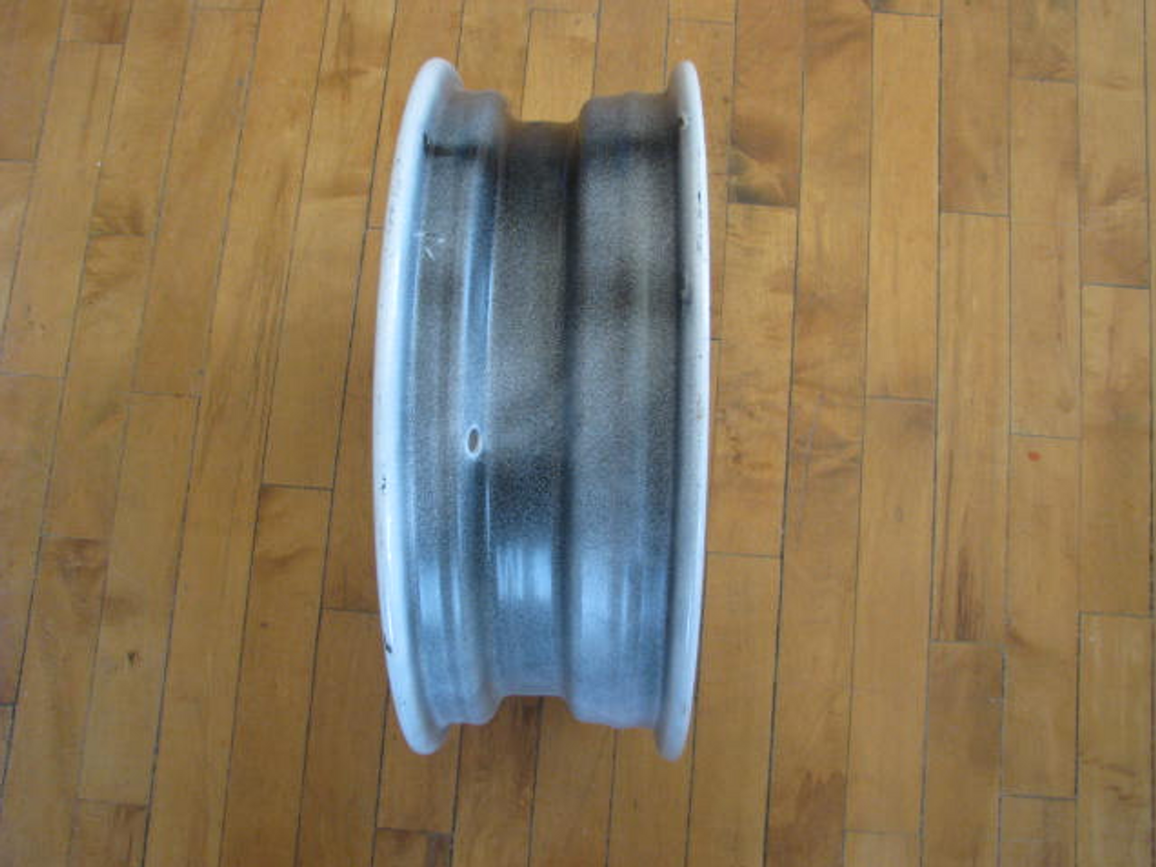 """15"""" x 5"""" Wheel 5 Hole on 5-1/2"""" Bolt Circle (CCH015) VERTICAL VIEW"""
