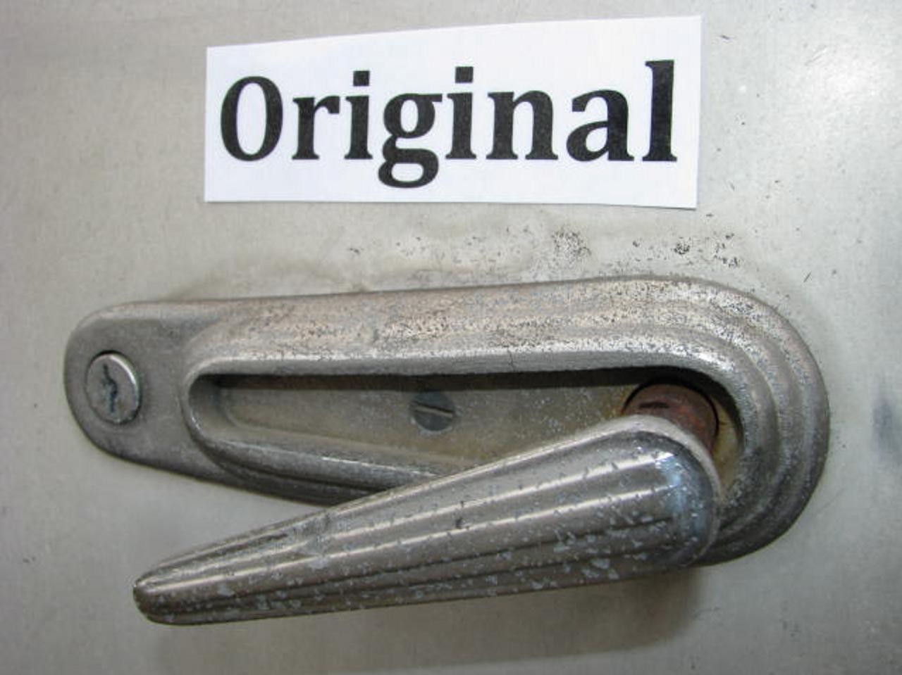 Safety Lock Retrofit Kit (46-48 Spartans) (CHW133) ORIGINAL HANDLE SHOWN