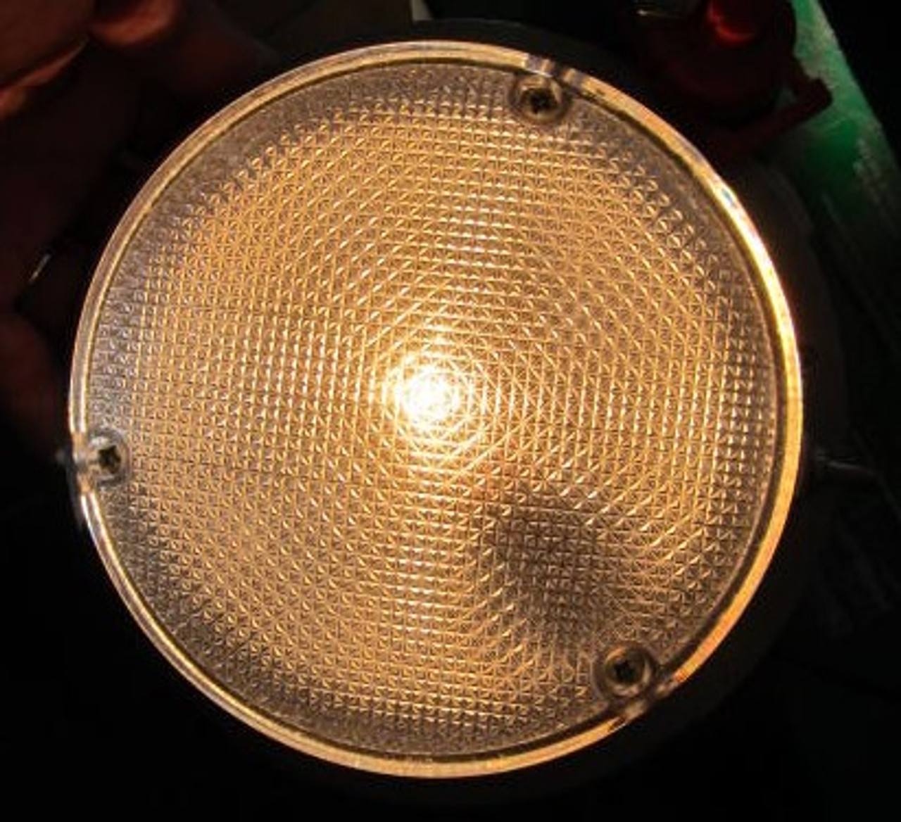 "Dome Light 6-1/8"" Steel (LT384)"