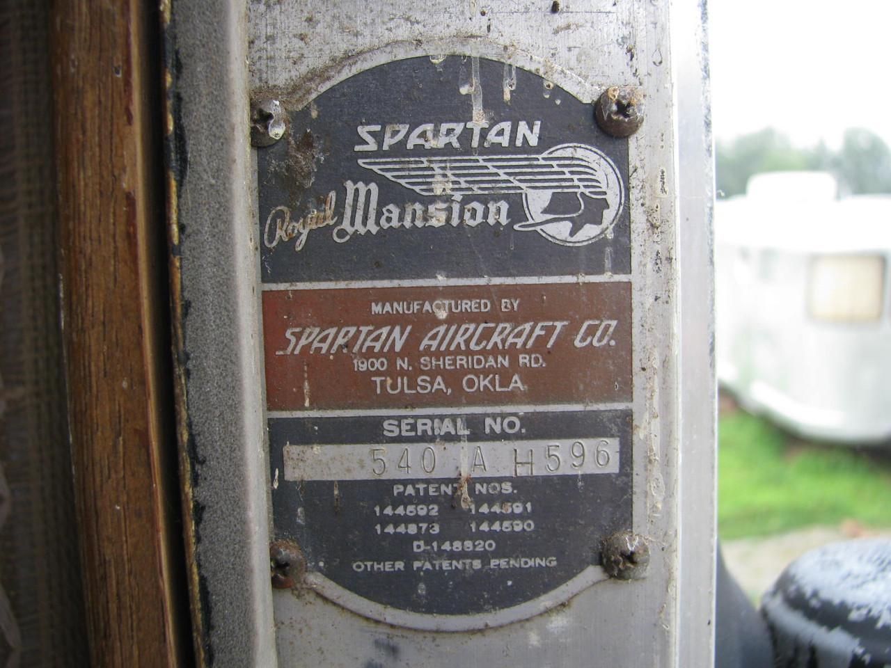 1957 Spartan 40' Royal Mansion #596