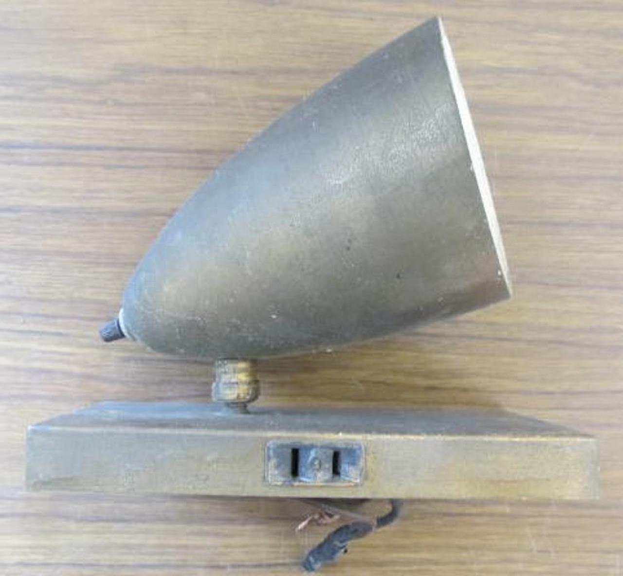 Vintage Brass Wall Sconce (LT412)