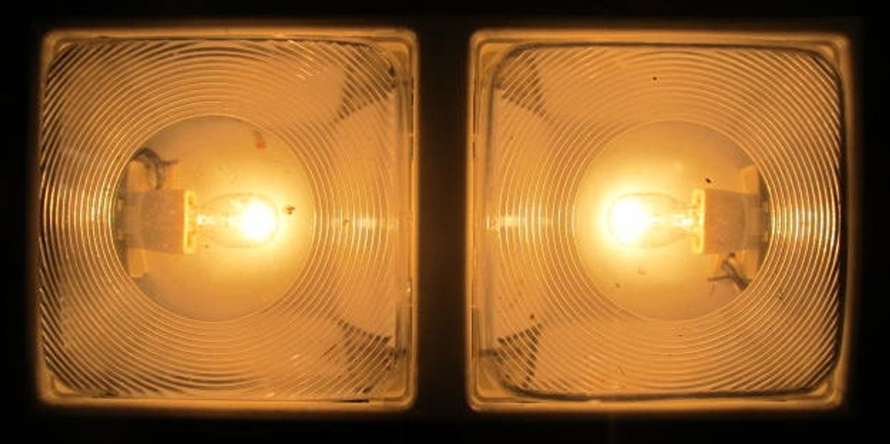 Double Light with Slide Switches (LT413)