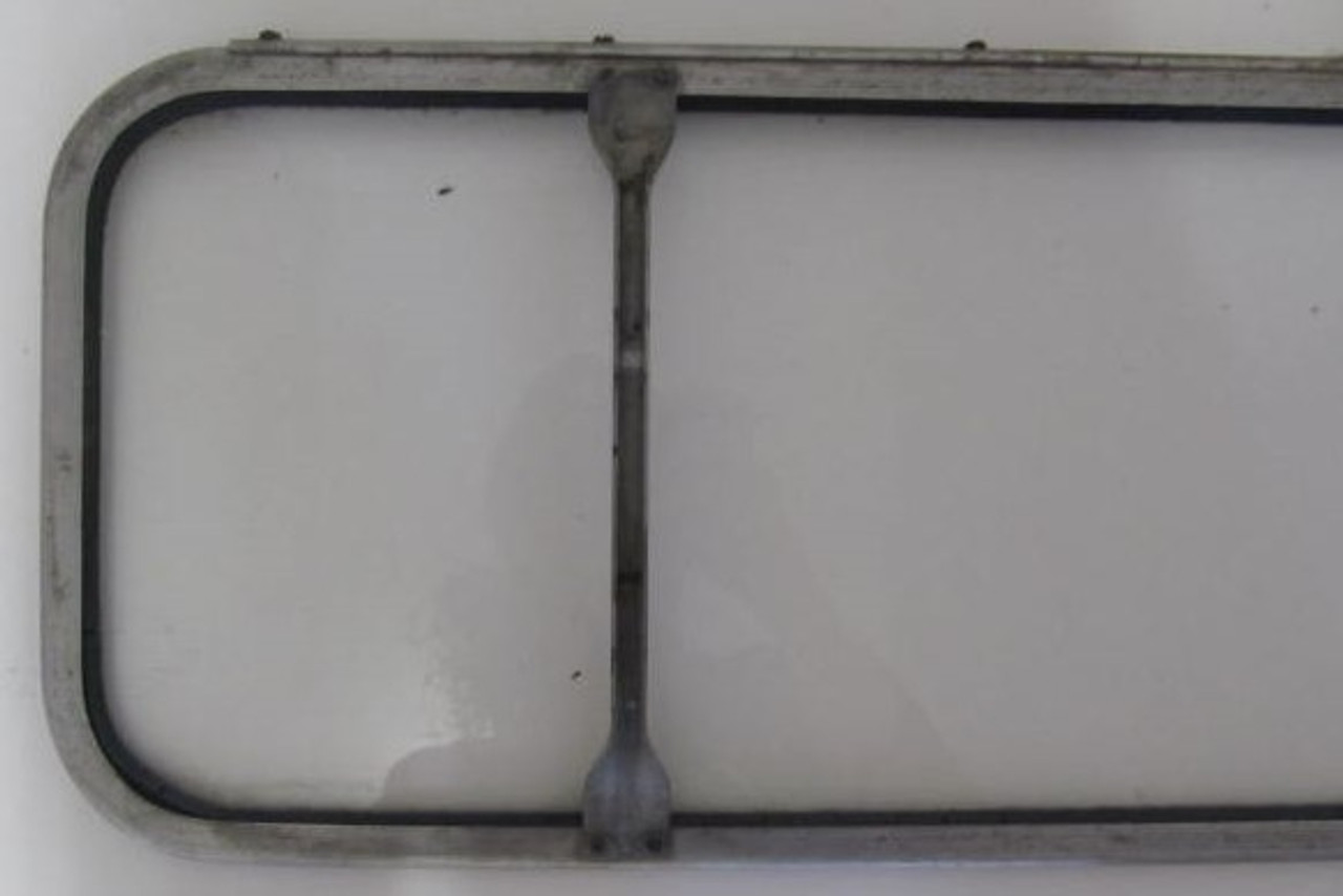 Spartan 1 piece Window with Hinge