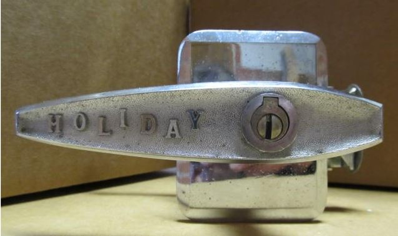 Chesler T-5 Lock (missing striker plate) (HW374)