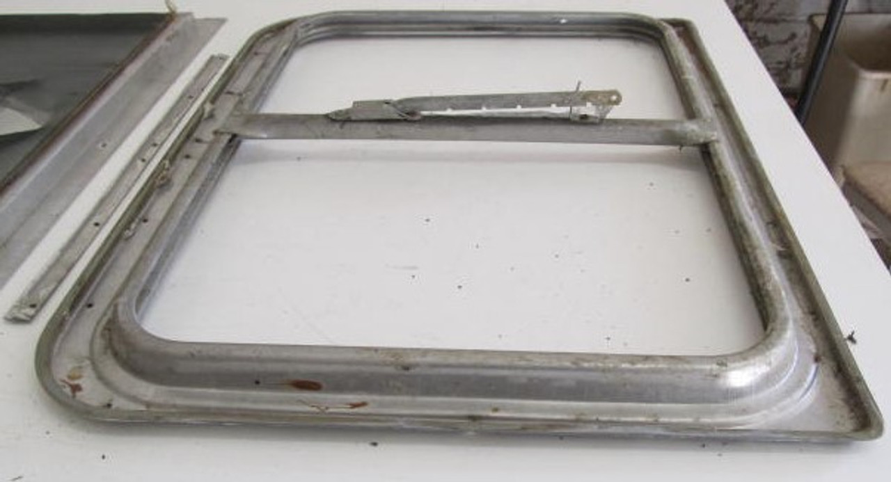 "25-1/4"" x 19-1/4"" Aluminum Window Frame (w/o Glass)"