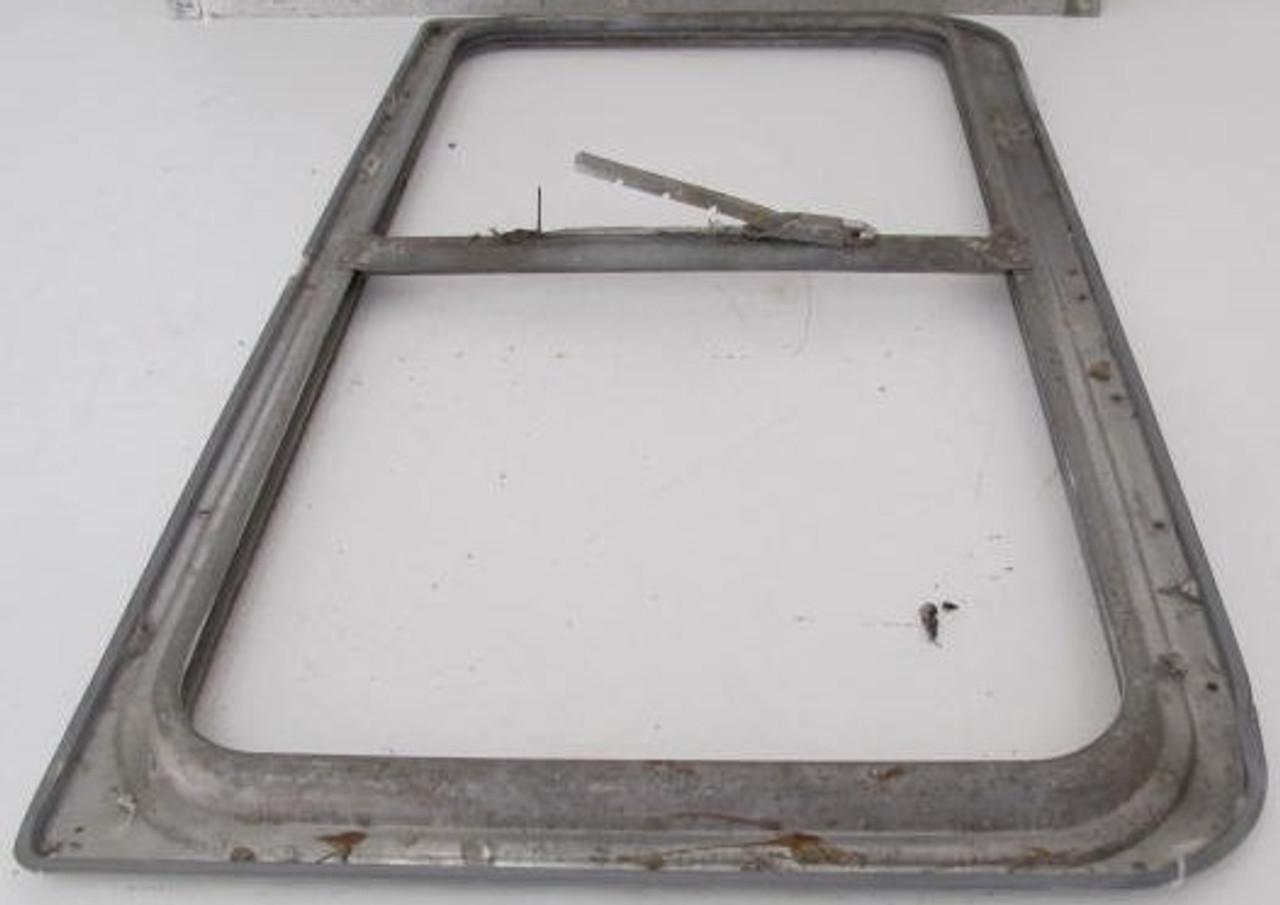 "33-1/8"" x 19-3/4"" Aluminum Window Frame (w/o glass & broken window lever) (BP363)"