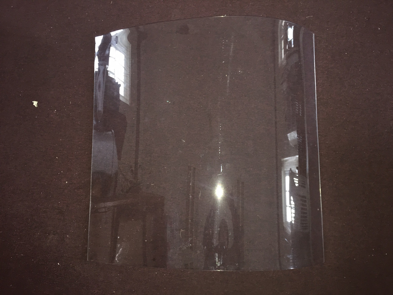 Spartan Front Side Curved Polycarbonate Window (1946 Only) (CBP017A)