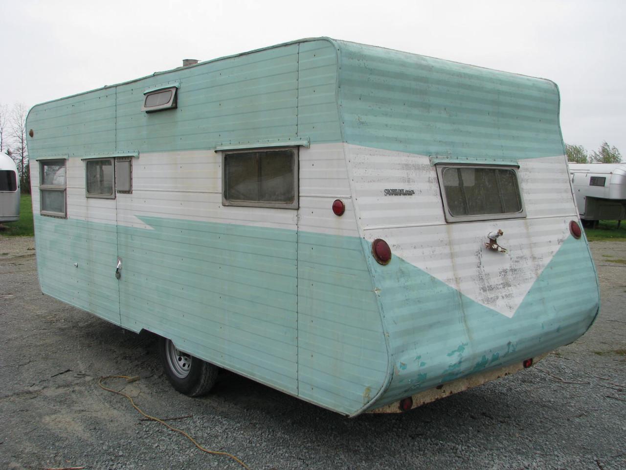 1957 Shoreline 20' Camper