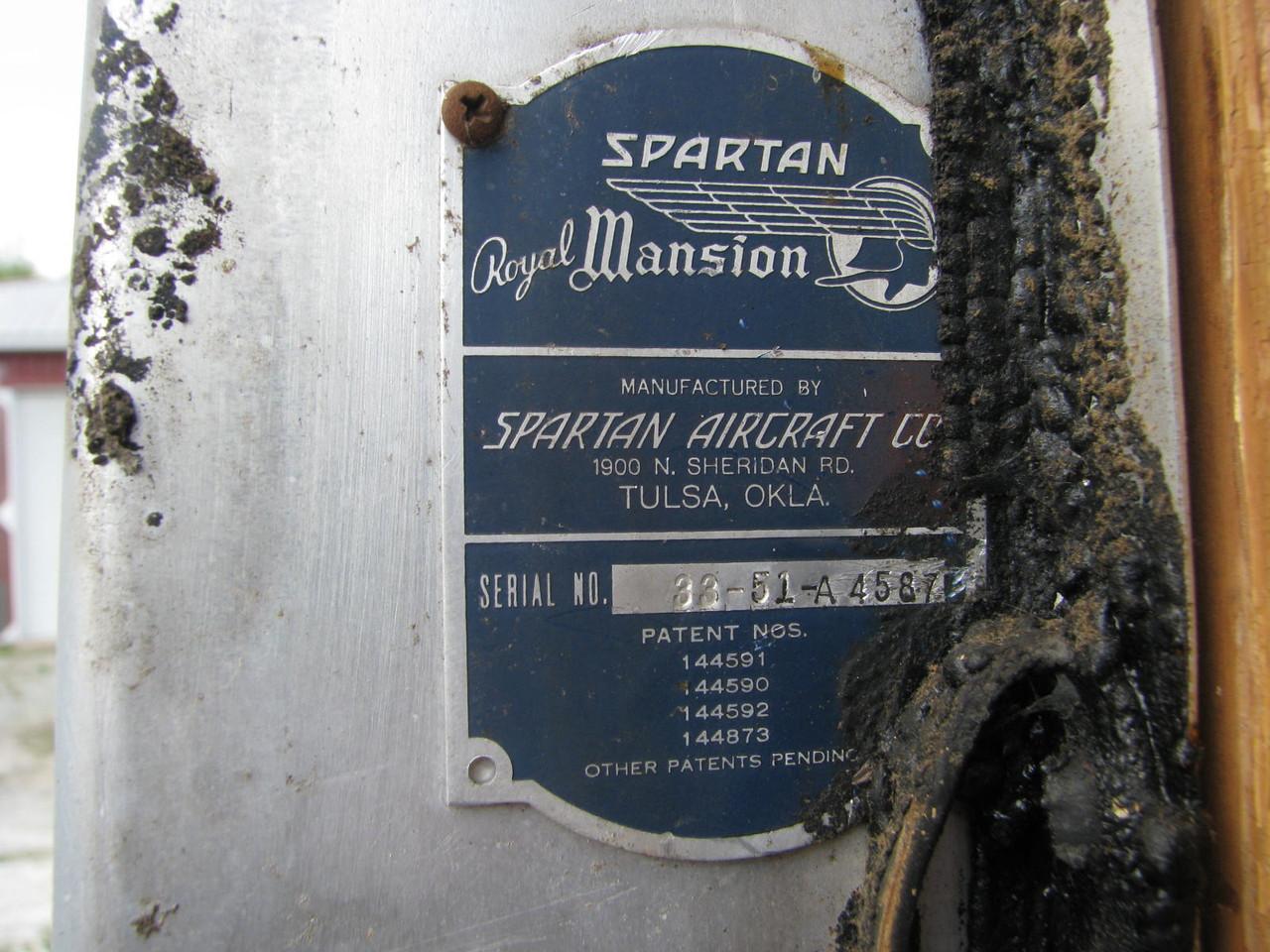 1951 Spartan 33' Royal Mansion #A4587