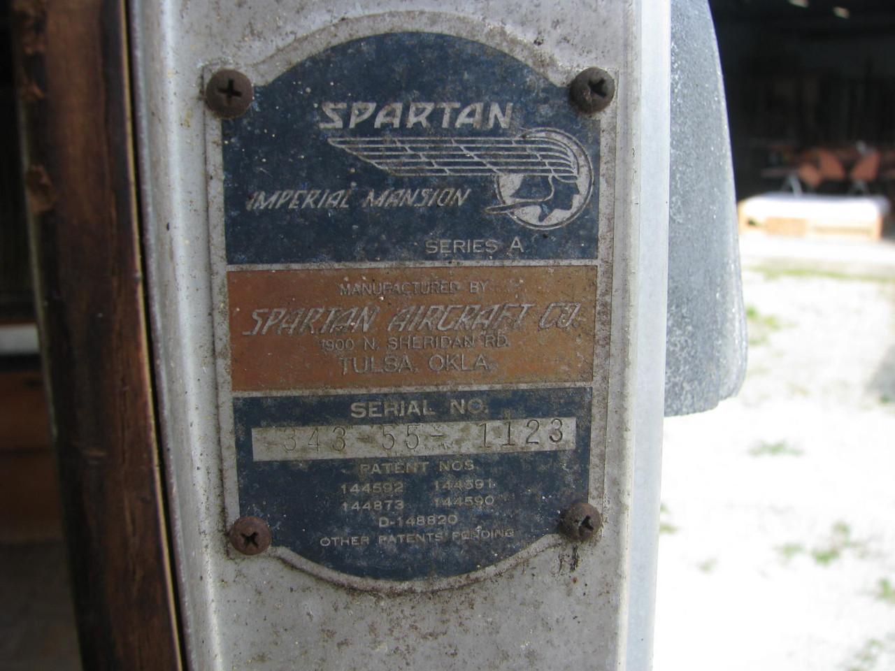 1955 Spartan 43' Imperial Mansion #1123
