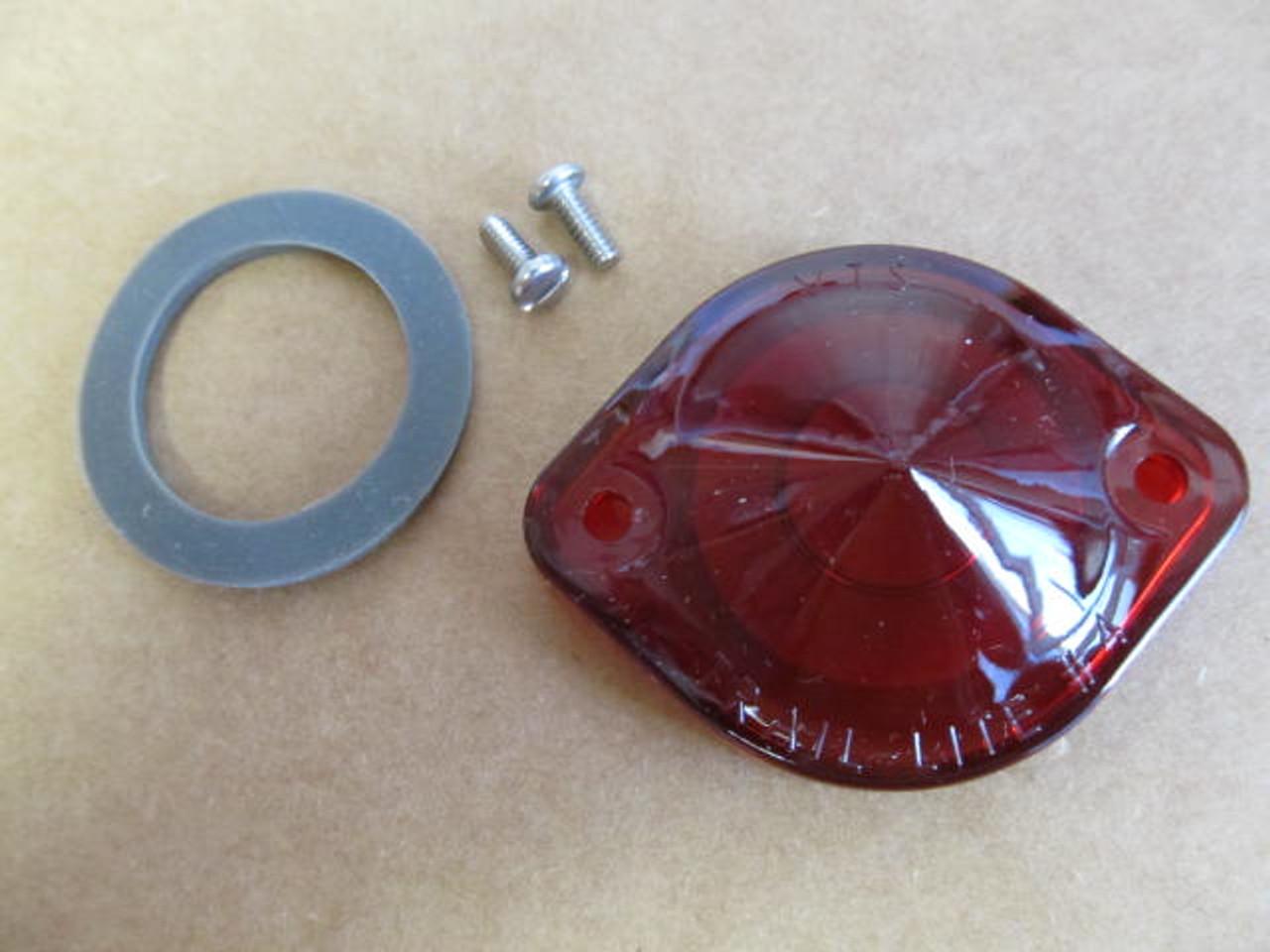 Red Lens for Trail-Lite #4 License Light (CLT108)