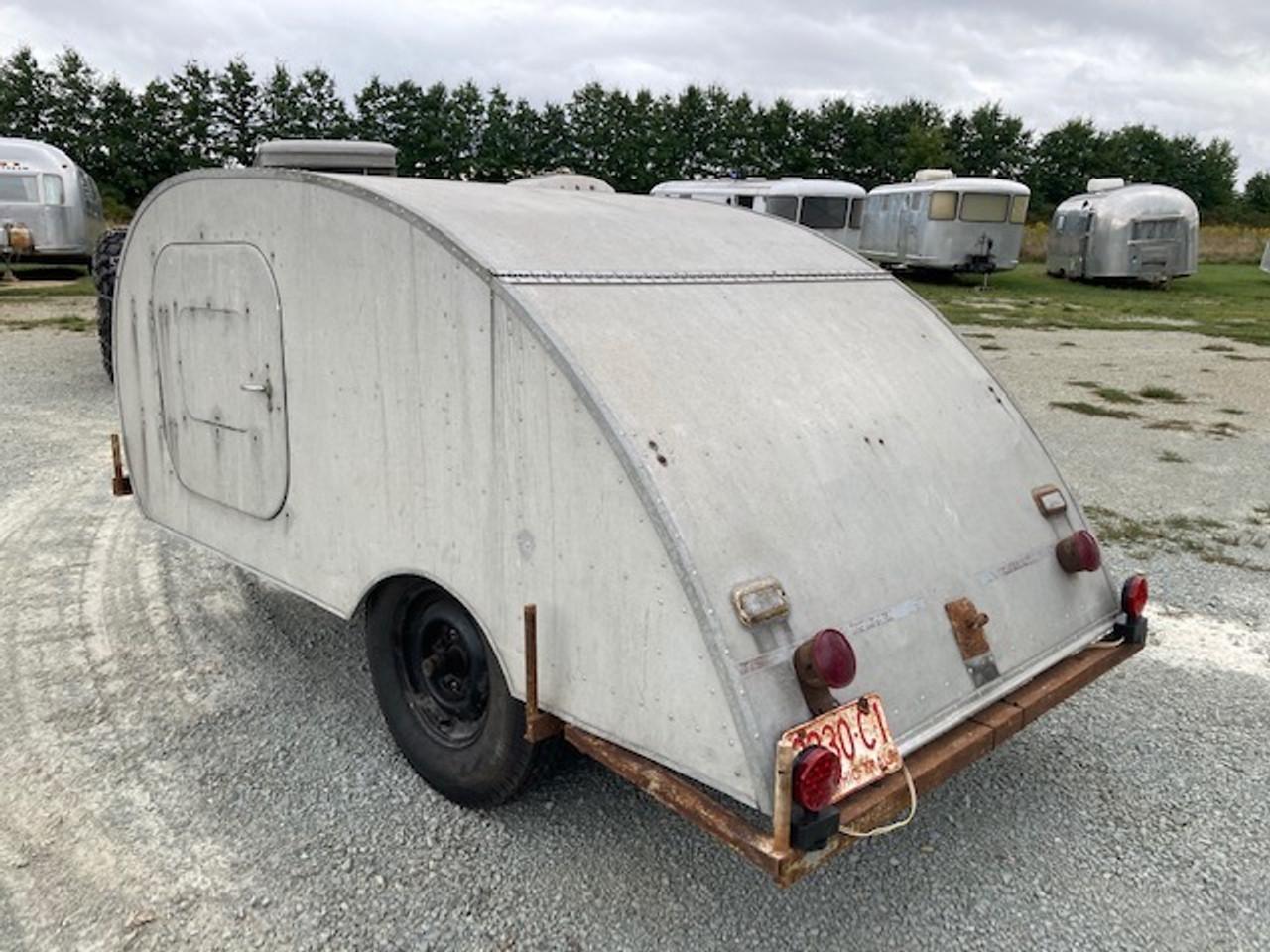 Late 40's Tourette Teardrop Camper