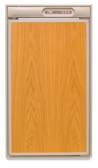 NORCOLD N510 REFRIGERATOR 5.5 CU. FT. 2-WAY (07-1001) BEIGE MODEL FRONT VIEW