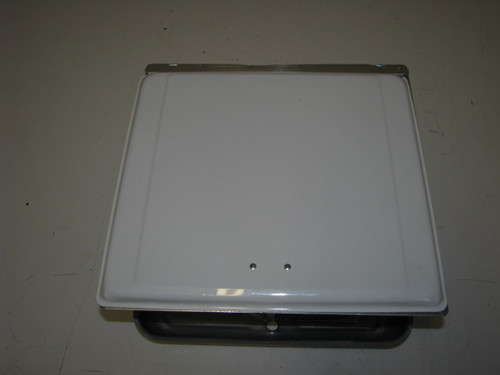 110V SIDEWALL VENT (22-1001) EXTERIOR FRONT (COVER DOWN)