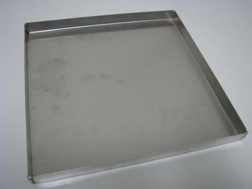 "Aluminum Vent Cover - 9.75"" x 9.75"" (CBP008)  BOTTOM VIEW"