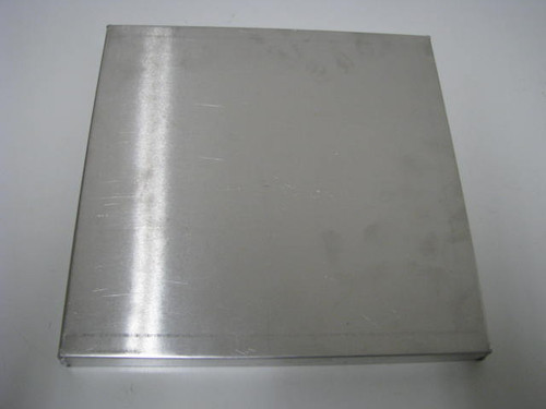 "Aluminum Vent Cover - 9.75"" x 9.75"" (CBP008)  TOP VIEW"