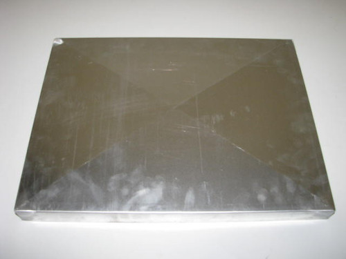 "Spartan Aluminum Vent Cover - 12"" x 16"" (CBP010) TOP VIEW"
