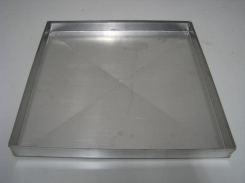 "Aluminum Vent Cover - 14-1/2"" x 14-1/2"" (CBP009) BOTTOM VIEW"