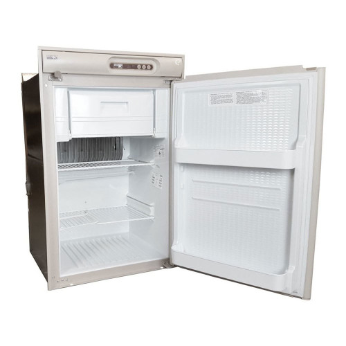 NORCOLD N410 REFRIGERATOR 4.5 CU. FT. 2-WAY (07-1000) FRONT VIEW (OPEN DOOR)