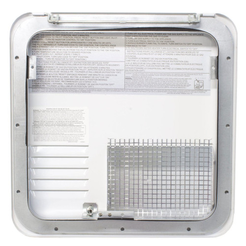 6 Gal. Suburban Water Heater Door Only (09-1008) Interior View