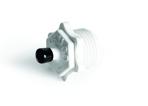 PLASTIC BLOW OUT PLUG (09-1011) Product shown with cap on (Included)