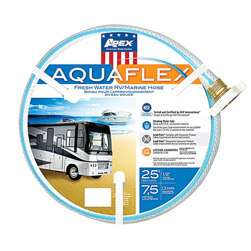 "AQUA FLEX HOSE 5-ply 0.50"" x 25´ (11-1003) PRODUCT PICTURED"