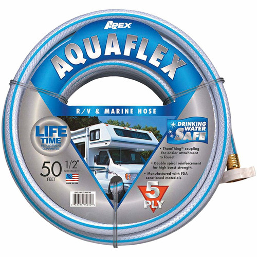 "AQUA FLEX HOSE 5-ply 1/2"" x 50´ (11-1004) Product Pictured"