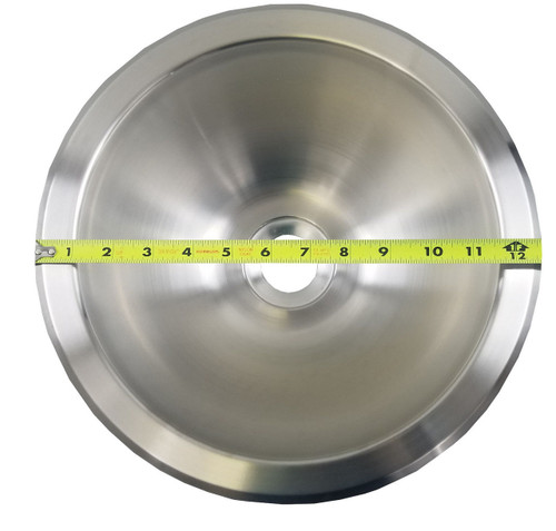 "ROUND SINK - 10"" STAINLESS STEEL (10-1022)"