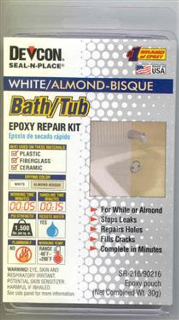 TUB REPAIR ALMOND (13-1003)