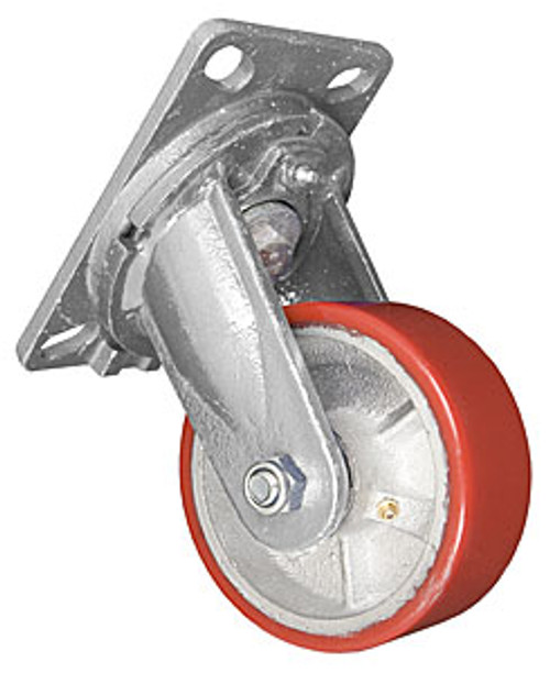 "1 PAIR 5""x 2"" EXTRA HEAVY - DUTY SKID WHEEL (15-1028)"