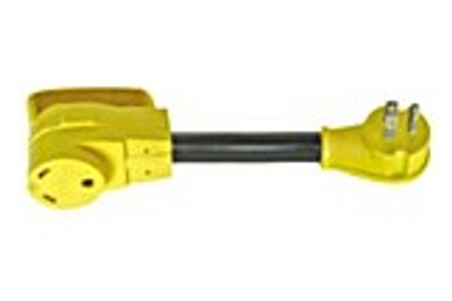 DOGBONE ELECTRICAL ADAPTER - 15 AMP MALE TO 30 AMP FEMALE (19-1017)