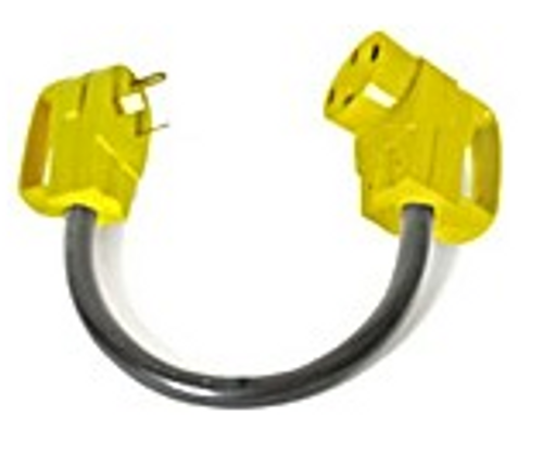 DOGBONE ELECTRICAL ADAPTER - 30 AMP MALE TO 50 AMP FEMALE (19-1018)