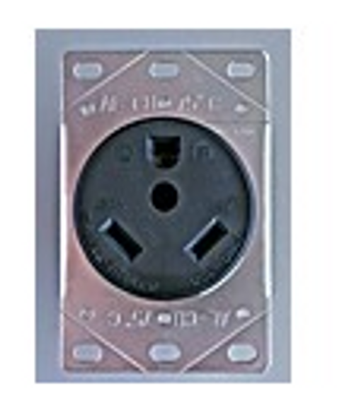 MOTOR BASE RECEPTACLE - 30 AMP FEMALE (19-1021)